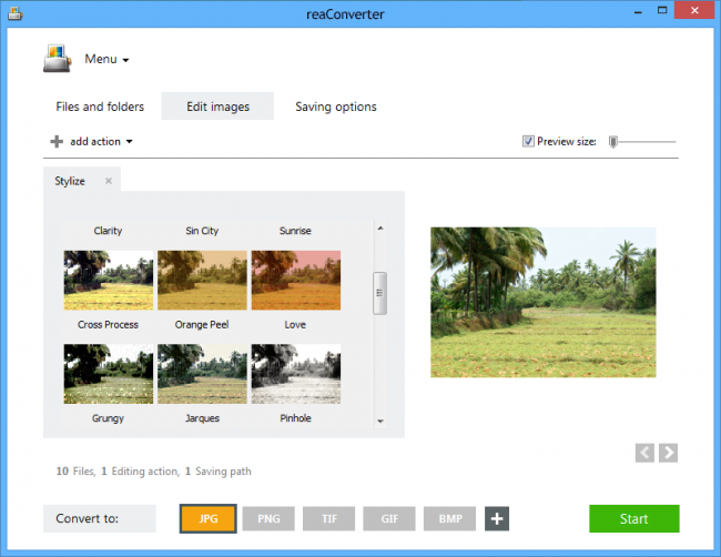 ReaConverter Pro - advanced image converter 7.0