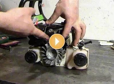 Ремонт бензопилы своими руками штиль видео